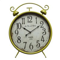 Life is Beautiful Yellow Wall Clock Product Image
