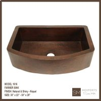 1616 Single Farmer Sink Product Image