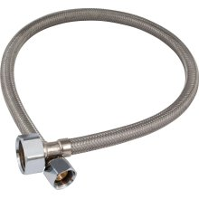 """3/8"""" x 1/2"""" Stainless Steel Hose"""