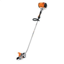 A professional, curved-shaft edger with high blade speed, a low-emission engine, and more.