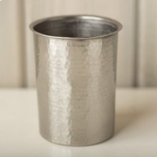 Utensil Holder in Brushed Nickel