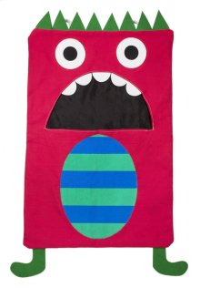 Red Monster Laundry Bag