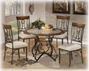 Round Dining Room Table and 4 Chairs Product Image