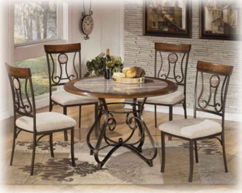 D314d4 In By Ashley Furniture In Watertown Ny Hopstand Brown Dining Room Table