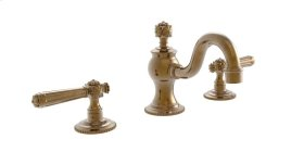 MARVELLE Widespread Faucet 162-02 - Polished Gold Antiqued