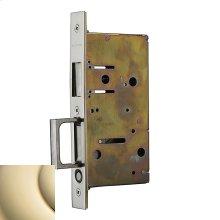 Lifetime Polished Brass 8603 Pocket Door Strike with Pull