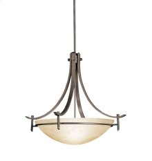 Olympia Collection Olympia 3 Light Inverted Pendant - Olde Bronze