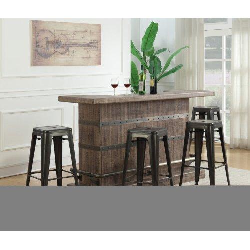 Emerald Home Dakota Bar Weathered Brown Ac570-07-05