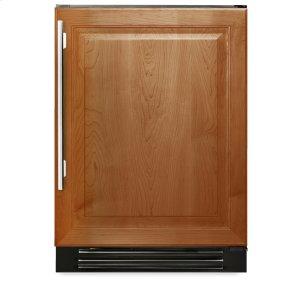 True Residential24 Inch Overlay Solid Door Wine Cabinet - Left Hinge Overlay Solid