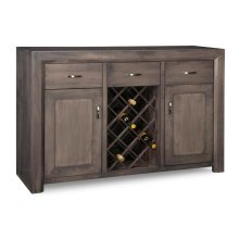 Contempo Sideboard with Wine Rack