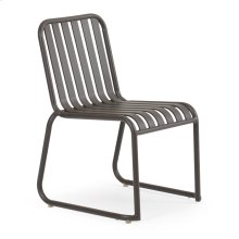 0111 Stackable Dining Chair Charcoal