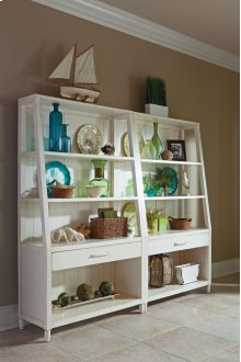 424-860 BOOK Sea Breeze Bookcase