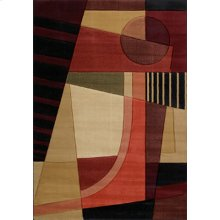 Contours Urban Angles Green Rugs