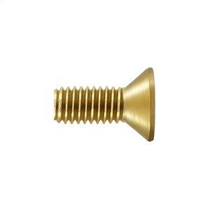 """Machine Screw, SB, #10 x 1/2"""" - PVD Polished Brass"""