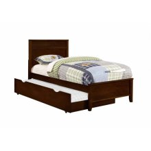 Ashton Transitional Cappuccino Trundle