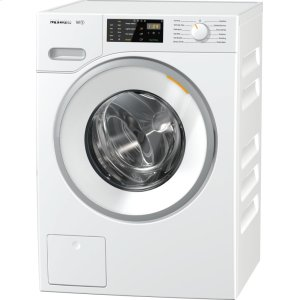 MieleW1 Classic front-loading washing machine With CapDosing for intelligent laundry care.