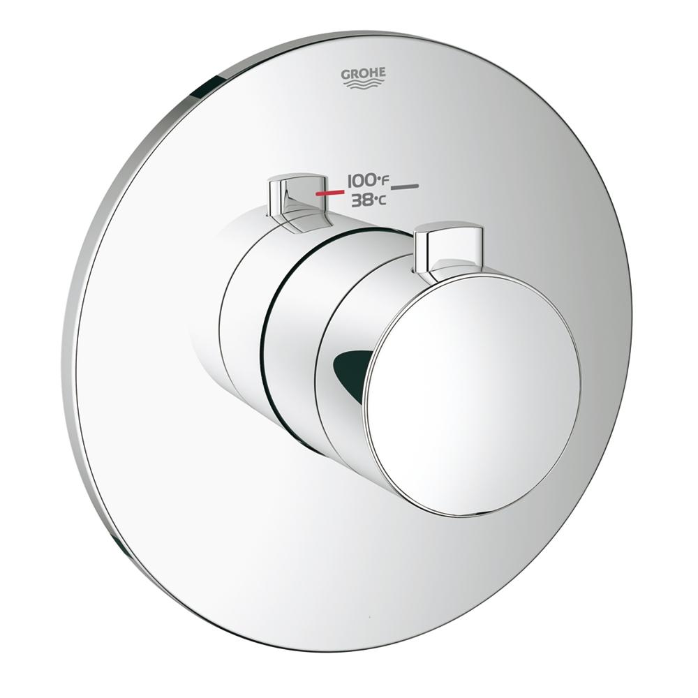 Europlus Custom Shower Thermostatic Trim with Control Module