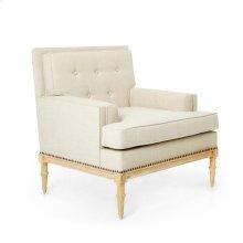 Davis Club Chair, Natural