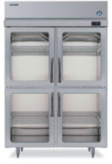 RH2-SSB-HG TempGuard® Glass Door Refrigerator Series
