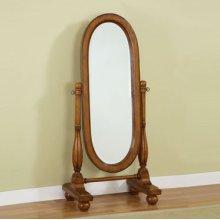"""Woodland Oak"" Cheval Mirror"
