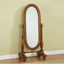 """Woodland Oak"" Cheval Mirror"