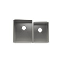 """J7® 003988 - undermount stainless steel Kitchen sink , 15"""" × 18"""" × 10""""  12"""" × 16"""" × 8"""""""