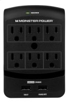 Monster Core Power 650 USB 6 Outlet Product Image