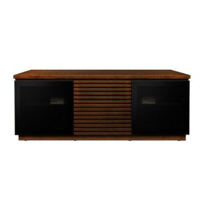 Bell'oContemporary Espresso Finish Wood Home Entertainment Cabinet