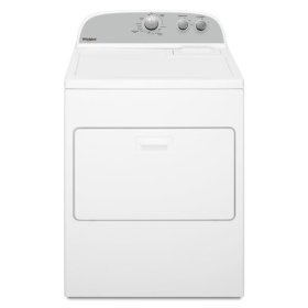 Whirlpool® 7.0 cu. ft. Top Load Electric Dryer with AutoDry™ Drying System - White