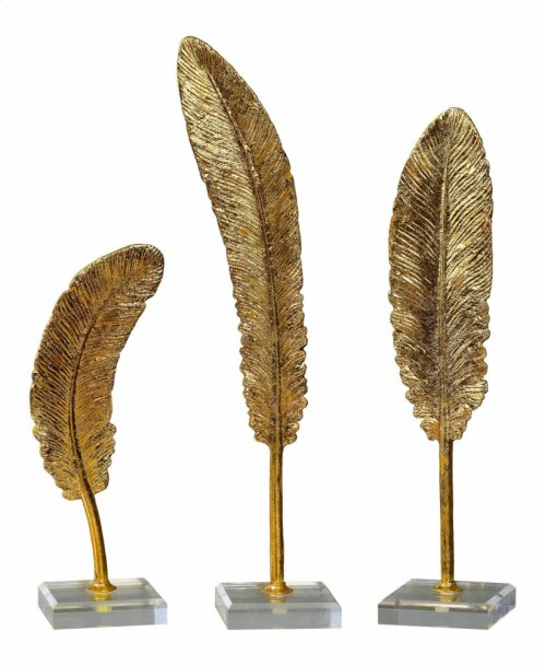 Feathers Sculpture, S/3