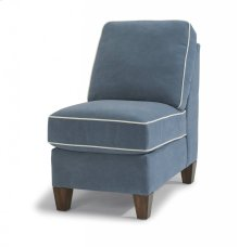 Westside Leather Armless Chair