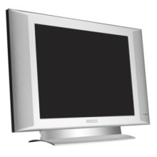 """Philips commercial flat TV 15FT3220 15"""" LCD with Crystal Clear III"""
