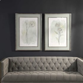 Stone Flower Study Framed Prints, S/