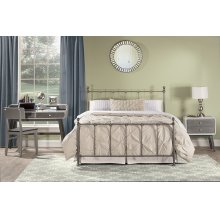 Molly Full Bed Set - Black Steel