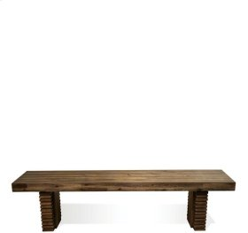 Modern Gatherings Bench Top 53 lbs Brushed Acacia finish