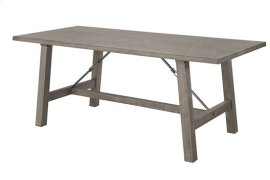 Dining Table - Mystic Gray Finish