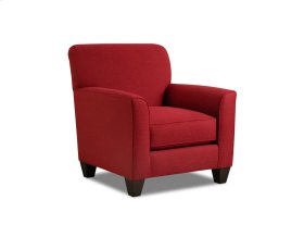 1010 - Halifax Crimson Accent Chair