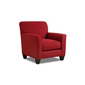 American Furniture Manufacturing1010 - Halifax Crimson Accent Chair