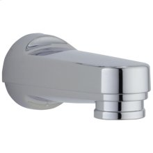 Chrome Tub Spout - Pull-Down Diverter
