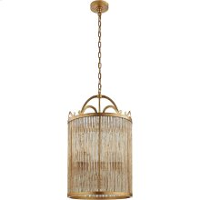 Visual Comfort NW5025GI Niermann Weeks Sophie 4 Light 18 inch Gilded Iron Foyer Lantern Ceiling Light