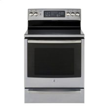 "30"" Free Standing Electric Self Cleaning True Convection Range"