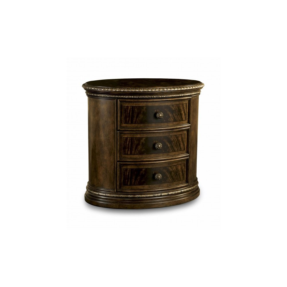 Gables Oval Nightstand (Wood)