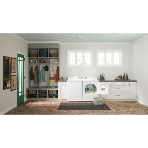Clearance Model - One of a Kind - 6.5 cu. ft. Gas Dryer with Wrinkle Prevent Option - white