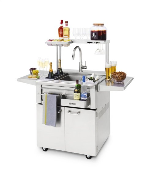 Freestanding Cocktail Station