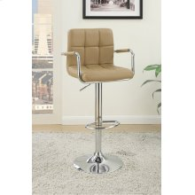 F1568 / Cat.19.p65- ADJUSTABLE BARSTOOL BRWN