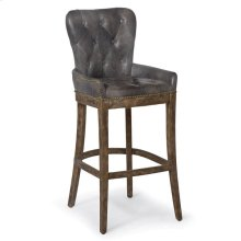 Tavern Bar Stool-antique Ebony