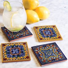 Casablanca Tile Coasters