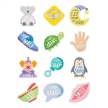 """""""I Can..."""" Belly Stickers (12 pc. set)"""