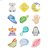 """Additional """"I Can..."""" Belly Stickers (12 pc. set)"""