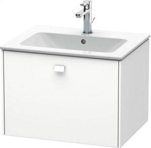 Vanity Unit Wall-mounted, White Matt
